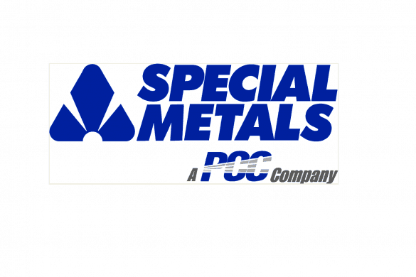 Special Metals logo - centred