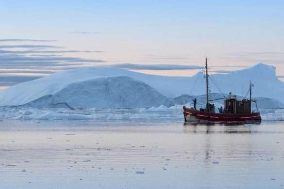 Glacier silicon feeds ocean plankton Image